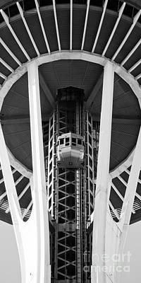 Poster featuring the photograph Space Needle Seattle by Chris Dutton