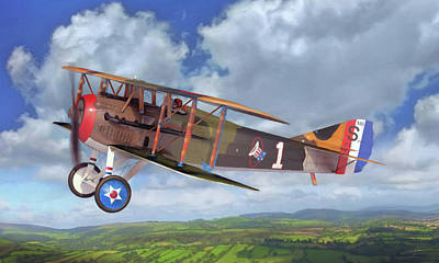 Spad Xiii Poster by Dale Jackson