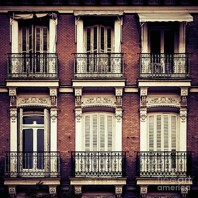 Spanish Balconies Poster