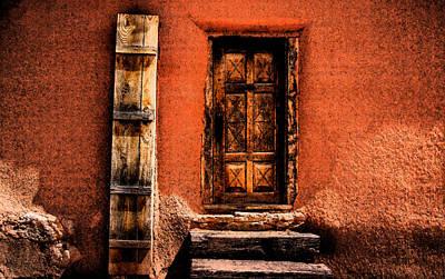 Spanish Door Poster