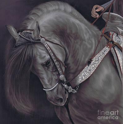 Spanish Horse Poster