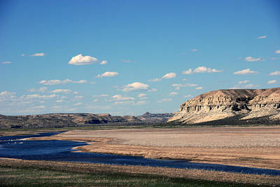 Spanish River Rio Verde Green River Wyoming Poster
