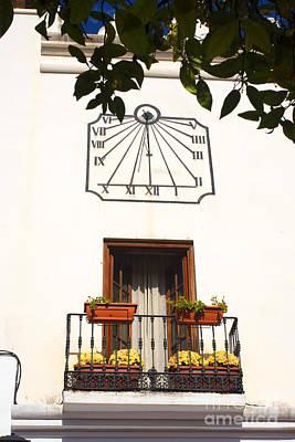 Spanish Sun Time Poster