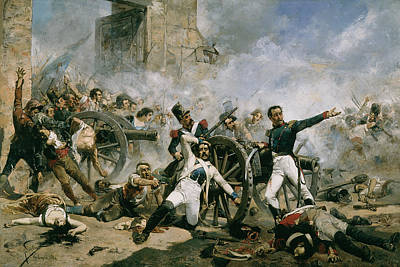 Spanish Uprising Against Napoleon In Spain Poster