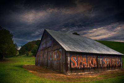 Spark Stoves Barn Poster