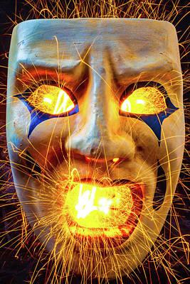 Sparking Mask Poster