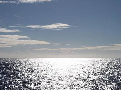 Sparkling Ocean Poster