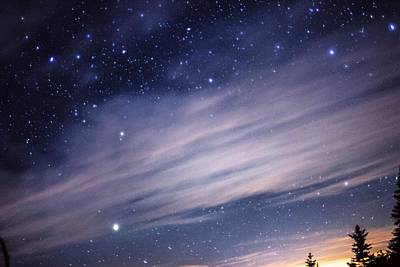 Poster featuring the photograph Sparkling Sky  by Jessica Tabora