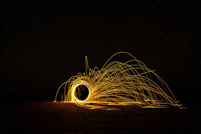 Sparks 2 Poster by Pelo Blanco Photo
