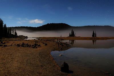Poster featuring the photograph Sparks Lake At Dawn by Cat Connor