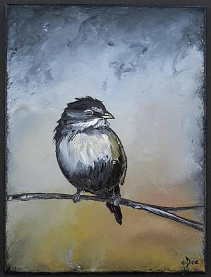 Sparrow Poster by Carolyn Doe