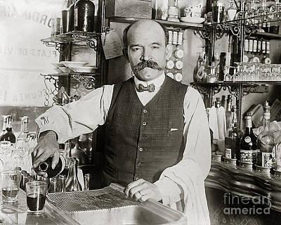 Speakeasy Bartender Poster by Jon Neidert