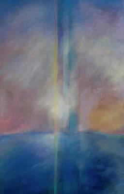 Spectral Sunrise Poster