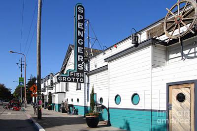 Spengers Restaurant Berkeley California Poster by Wingsdomain Art and Photography