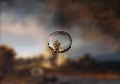 Sphere 13 Rembrandt Poster by David Bridburg