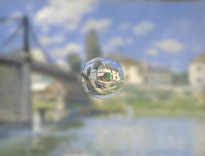 Sphere 18 Sisley Poster by David Bridburg