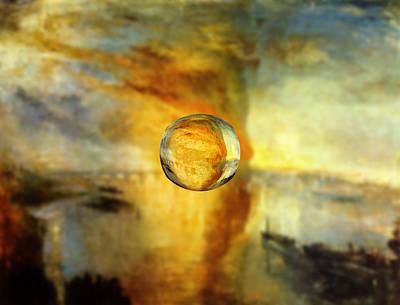 Sphere 26 Turner Poster by David Bridburg