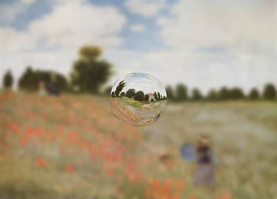 Sphere 9 Monet Poster