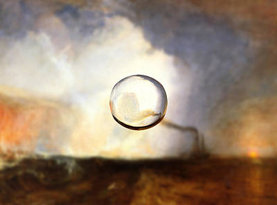 Sphere I Turner Poster by David Bridburg
