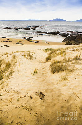 Spiky Beach Tasmania Poster by Jorgo Photography - Wall Art Gallery