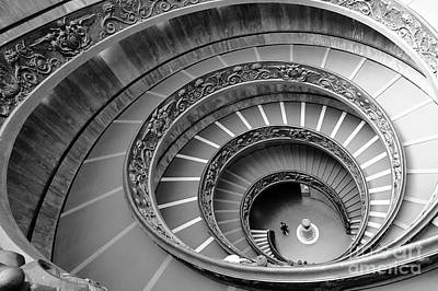 Spiral Staircase Poster by Floyd Menezes
