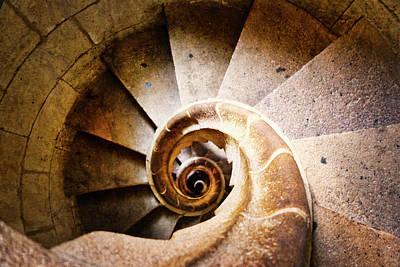 Spiral Steps Poster