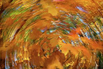Spiraling Autumn Poster by Rick Berk
