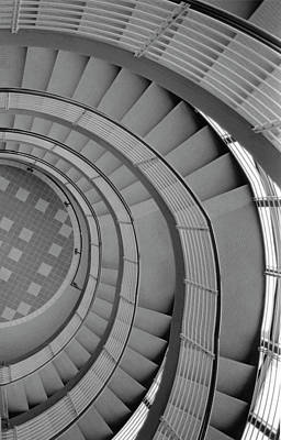 Spiraling Down  Poster by Tara Lynn