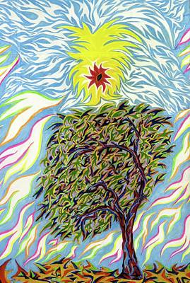 Spirit In The Tree Poster by Robert SORENSEN