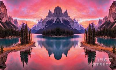 Spirit Island Reflections Poster