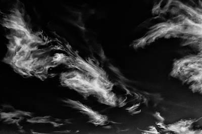 90289 Spirit Man Fface In Cloud Poster