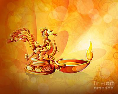 Spirit Of Diwali Poster