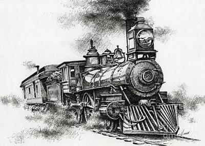 Spirit Of Steam Poster by James Williamson