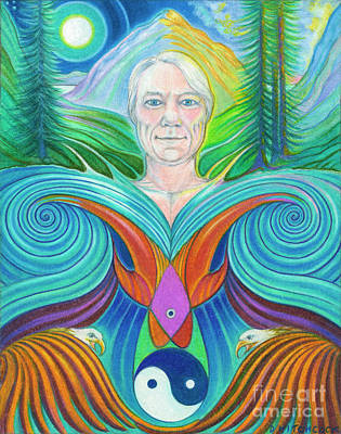 Spirit Of The Mountain Poster by Debra A Hitchcock