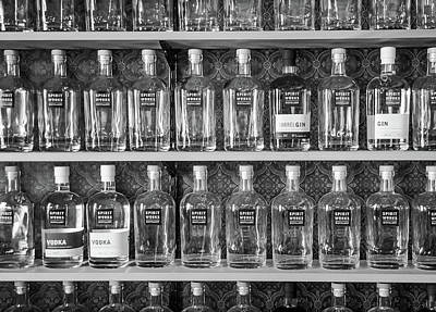 Poster featuring the photograph Spirit World Bottles by T Brian Jones