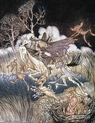 Spirits In Sleepy Hollow Poster by Granger