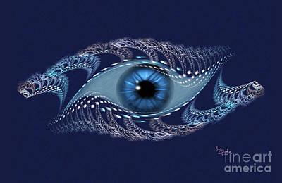 Spiritual Art - The Third Eye By Rgiada Poster