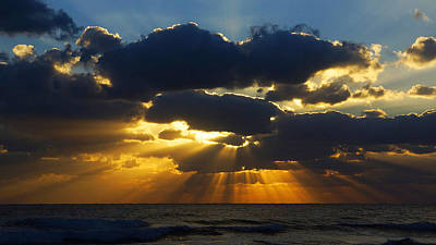 Spiritually Uplifting Sunrise Poster