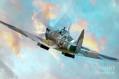 Spitfire - Valiant Knight Poster