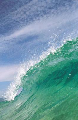 Splashing Wave Poster by Panoramic Images