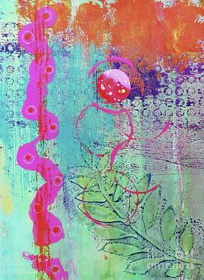 Splendid Day In Abstract Poster by Desiree Paquette