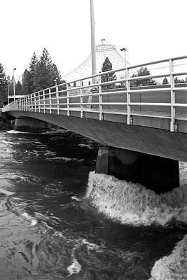 Spokane Washington Street Bridge Poster by Daniel Hagerman