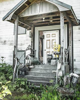 Spongebob On The Porch 2 Poster