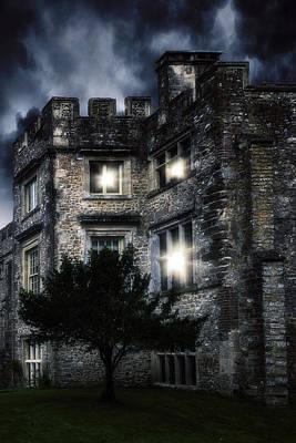 Spooky Castle Poster by Joana Kruse