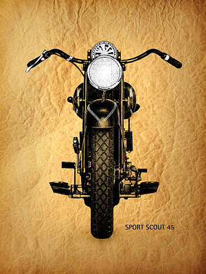 Sport Scout 45 Poster by Mark Rogan