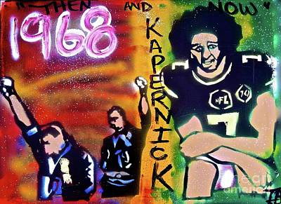 Sports Protest History Poster