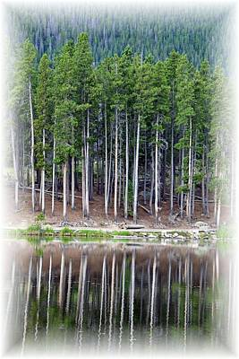 Sprague Lake 03 Poster by Pamela Critchlow