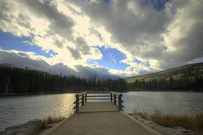 Sprague Lake 1 Poster by Matthew Angelo