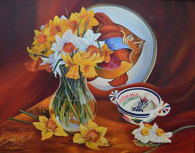 Spring Art Deco Poster