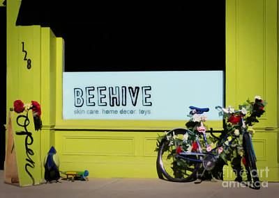 Spring At Beehive Poster by Janice Rae Pariza